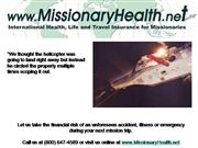 Missionary Health Evacuation Rescue