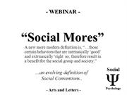 Social Mores - Social Psychology - Arts and Letters