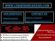 CSR Windscreens - Perth Windscreens Repair
