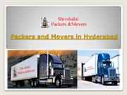 Hire Professional Packers and Movers in Hyderabad @ Shivshaktipackers