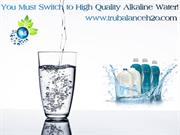 You Must Switch to High Quality Alkaline Water!