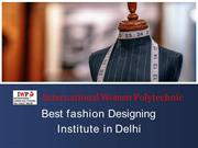 Best fashion Designing Institute in Delhi