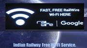 Indian Railway Free Wi-Fi Service.