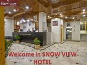 Book the Best and cheap Hotel in Manali- SNOW VIEW HOTEL