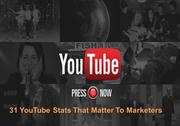 31 You Tube Stats That Matter To Marketers