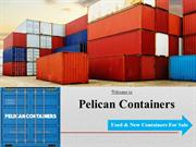 Pelican Containers - Used and New Containers for Sale
