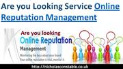 Are you Looking Service Online Reputation Management
