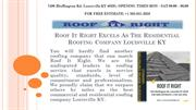Residential Roofing Company Louisville KY