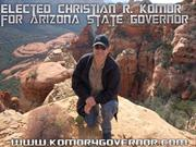 Elected Christian R. Komor for Arizona State Governor