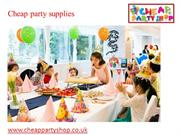 party supplies uk | cheap party supplies-cheappartyshop