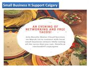 Small Business It Support Calgary
