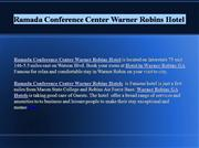 Ramada Conference Center Warner Robins