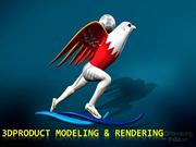 3D product modeling & rendering