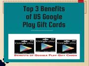 Benefits of Google Play Gift Card Balance | Check Balance