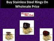 Buy Stainless Steel Rings On Wholesale Price