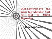 Best OLM to MBOX Conversion Tool