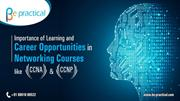 career opportunities in networking courses like CCNA and CCNP