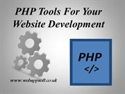 4 Useful PHP Tools for Your Website Development