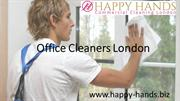 Top Office Cleaners in London