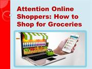 5 Tips for Making the Most of Online Grocery Shopping