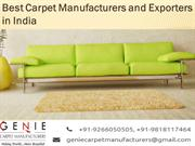 Rug Manufacturers India | Carpet manufacturers in India