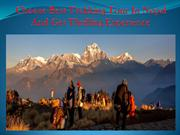 Choose Best Trekking Tour In Nepal And Get Thrilling Experience