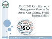 ISO 26000 Social Responsibility
