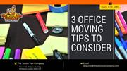 Office Moving Tips To Consider
