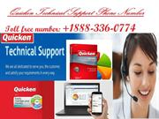 Quicken Support Number +1888-336-0774