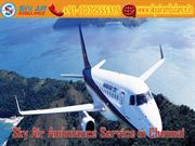 Receive Sky Air Ambulance Service in Chennai with Latest Medical