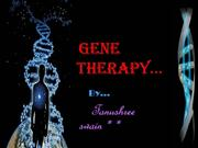 seminar on gene therapy