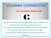 Co Operative Working Space| Startup Office Space - Colombo Cooperative