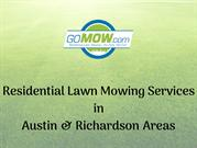 Weekly Lawn Mowing Service Why choose Gomow for Lawn mowing services i