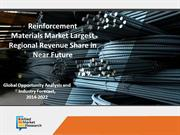 Reinforcement materials market Boosting Revenue Size in Near Future