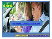 Automatic Driving School Sydney