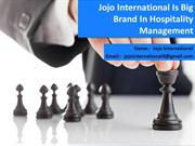 Achieve Big In Engineering Management And Hospitality Management By- J