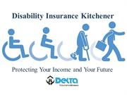 Disability Insurance Kitchener - Protecting Your Income and Your Futur