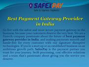 Best Payment Gateway Provider in India