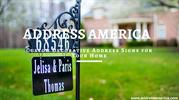 Custom Decorative Address Signs for Your Home - Address America