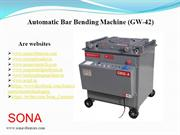 bar bending machine wholeseller