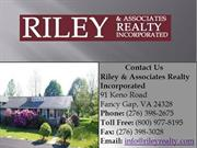 Riley & Assoc Realty Inc Find New Homes for Sale in Virginia