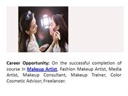 Makeup Artist Course Delhi, Advanced Makeup Courses