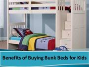 Benefits of Buying Bunk Beds for Kids