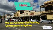 Commercial Painting Contractors in Sydney