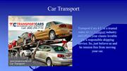 Transport You Car With Full Safety - Transport Cars 4 U