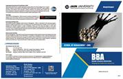 BBA-Brochure - Top BBA Colleges in Bangalore, India