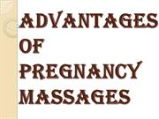 Few Reasons Why One Should Get a Pregnancy Massages