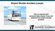 Hire Airport Shuttle Accident Lawyer in Irvine CA