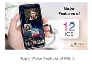 Top 19 Major Feature of ios 12