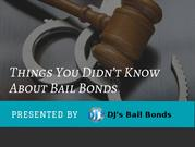 Professional Bail Bond Service - DJ's Bail Bonds
